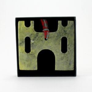Connemara Marble Castle Ornament