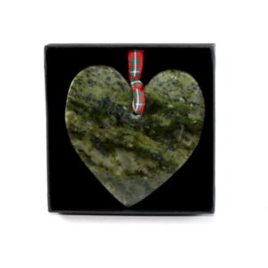 Connemara Marble Heart Ornament