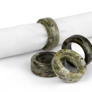 Connemara Marble Napkin Rings by Hennessy & Byrne