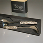 Dublin/Wicklow Granite Salad Server Set