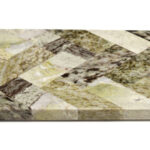 Herringbone Platter Connemara Marble
