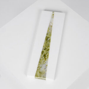 Irish green connemara marble long platter
